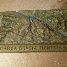 Coleccionismo deportivo: TROFEO-RECUERDO DE LA V MARXA NOCTURNA DE GRACIA A MONTSERRAT 1992. Lote 46531304