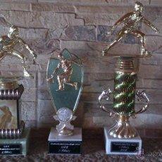 Coleccionismo deportivo: LOTE DE 3 TROFEOS DE CURLING. Lote 46888025