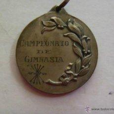 Coleccionismo deportivo: FALANGE - SECCION FEMENINA - FRENTE JUVENTUDES . MEDALLA CAMPEONATO GIMNASIA, 1954.. Lote 47019529