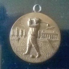 Coleccionismo deportivo: MEDALLA DE GOLF ANTIGUA.. Lote 47893849