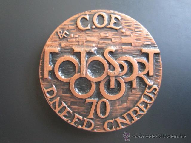 MEDALLA FOTOSPORT 70. FOTOGRAFÍA DEPORTIVA (Coleccionismo Deportivo - Medallas, Monedas y Trofeos - Otros deportes)