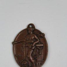 Collectionnisme sportif: M- 158. ANTIGUA MEDALLA EN RELIEVE DE BRONCE AÑO 1935.. Lote 48551071