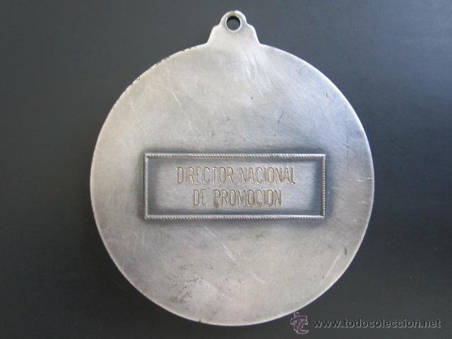 Coleccionismo deportivo: MEDALLA V JUEGOS DEL CANTÁBRICO DE INVIERNO. VIZCAYA, 1973. DIRECTOR NACIONAL DE PROMOCIÓN. 60 MM - Foto 2 - 48569564