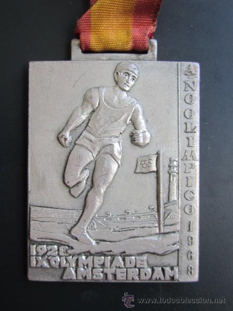 MEDALLA DELEGACIÓN NACIONAL DE JUVENTUDES. III CAMPEONATO DE MINUSVALIDOS. MADRID, 1968. 35X50 MM (Coleccionismo Deportivo - Medallas, Monedas y Trofeos - Otros deportes)
