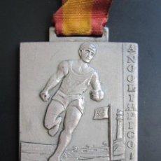 Coleccionismo deportivo: MEDALLA DELEGACIÓN NACIONAL DE JUVENTUDES. III CAMPEONATO DE MINUSVALIDOS. MADRID, 1968. 35X50 MM. Lote 48569712