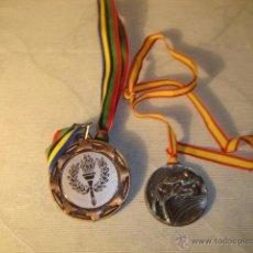 Coleccionismo deportivo: 2 MEDALLAS MEDALLA MUY BUEN ESTADO ELCHE. Lote 48591967