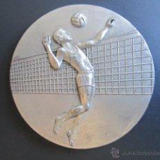 Coleccionismo deportivo: MEDALLA X CAMPEONATO DE ESPAÑA. JUVENIL VOLEIVOL. TROFEO LOPEZ ARJONA. LERIDA, 1970. . Lote 48712603