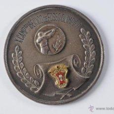 Coleccionismo deportivo: MEDALLA DE PLATA X CAMPEONATO IBERICO DE FOSSO OLIMPICO 1967. Lote 49211840