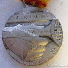 Coleccionismo deportivo: MEDALLA CLUB TENIS BARCELONA. II CAMPEONATO DE ESPAÑA. 1974. DIAM. 4,5 CM FIRMADA JORDI ALUMÀ. Lote 49464820