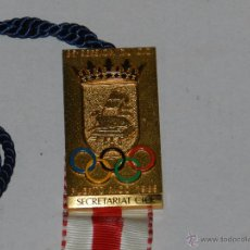 Coleccionismo deportivo: OLIMPIADA - MEDALLA 95 SESSION DU CIO PUERTO RICO 1989 - SECRETARIAT CIO ( OLIMPISMO ) ORIGINAL. Lote 49465628