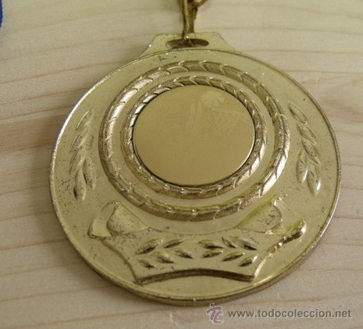 Coleccionismo deportivo: Medalla Baloncesto - Sin Grabar - Foto 2 - 49566828