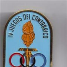Coleccionismo deportivo: MEDALLA DE COLABORADOR - IV JUEGOS DEL CANTABRICO 1964 - BILBAO. Lote 182323666