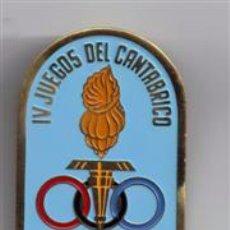 Coleccionismo deportivo: MEDALLA DE JUECES EN LOS IV JUEGOS DEL CANTABRICO 1964 - BILBAO. Lote 49902195