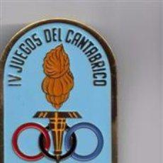 Coleccionismo deportivo: MEDALLA PARTICIPANTE EN LOS IV JUEGOS DEL CANTABRICO 1964 BILBAO. Lote 49751793