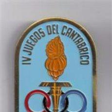 Coleccionismo deportivo: MEDALLA DE PRENSA EN LOS IV JUEGOS DEL CANTABRICO 1964 BILBAO. Lote 49902197