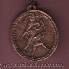 Coleccionismo deportivo: MEDALLA DE COBRE - VI JUEGOS DEPORTIVOS COLEGIO ESCOLAPIOS DE CATALUÑA - TARRASA 1968. Lote 50477723