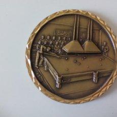 Sports collectibles - Medalla de billar americano, trofeo de metal - 51147118