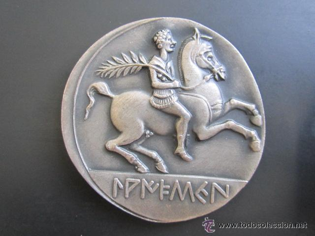 MEDALLA DE PLATA. IX CAMPEONATO NATACIÓN JUVENIL. 1964. DIÁMETRO 43 MM (Coleccionismo Deportivo - Medallas, Monedas y Trofeos - Otros deportes)