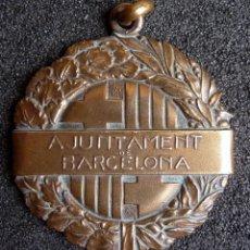 Coleccionismo deportivo: (JX-0145)MEDALLA V ANIVERSARIO DE LA REPUBLICA,REGATAS A REMO,AYUNTAMIENTO DE BARCELONA,AÑO 1936. Lote 51883042