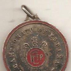 Coleccionismo deportivo: TIRO PICHÓN. CAMPEONATO DE ESPAÑA DE 1948. MEDALLA O LLAVERO. Lote 52636521