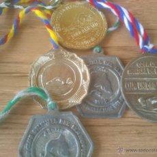 Coleccionismo deportivo: LOTE MEDALLAS NATACION. Lote 52804904
