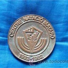 Coleccionismo deportivo: MEDALLA CONMEMORATIVA / CENTRE NATACIÓ MATARÓ / 50 ANIVERSARI / 1932-1982 / METAL . Lote 52918034