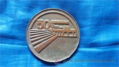 Coleccionismo deportivo: Reverso medalla. - Foto 2 - 52918034