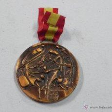 Coleccionismo deportivo: MEDALLA DE LOS CAMPEONATOS REGIONALES DE LA FEDERACION MADRILEÑA DEPORTES INVIERNO, 1988 / 89, ESQUI. Lote 53856450