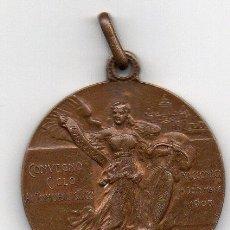 Coleccionismo deportivo: CONVEGNIO CICLO AUTOMOBILISTICO RACCONIGI 15SETTEMBRE 1908. Lote 54411984