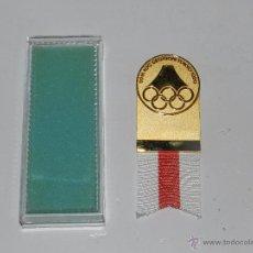 Coleccionismo deportivo: (M) MEDALLA OLIMPIADA DE TOKIO 1990 , 96 TH IOC SESSION TOKIO 1990 , 10 X 4 CM, CON CAJA. Lote 54908432