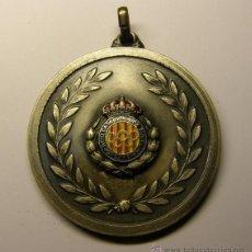 Coleccionismo deportivo: MEDALLA FEDERACIÓN CATALANA DE TIRO OLÍMPICO, CATEGORIA PLATA.. Lote 55091367