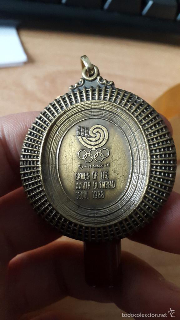 Coleccionismo deportivo: medalla juegos olimpicos seul 1988 (ver imágenes adicionales) - Foto 3 - 56125726