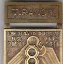 Coleccionismo deportivo: PIN DISTINTIVO.TIRADOR.CAMPEONATO DE EUROPA 1972.FOSO OLIMPICO.. Lote 56325236