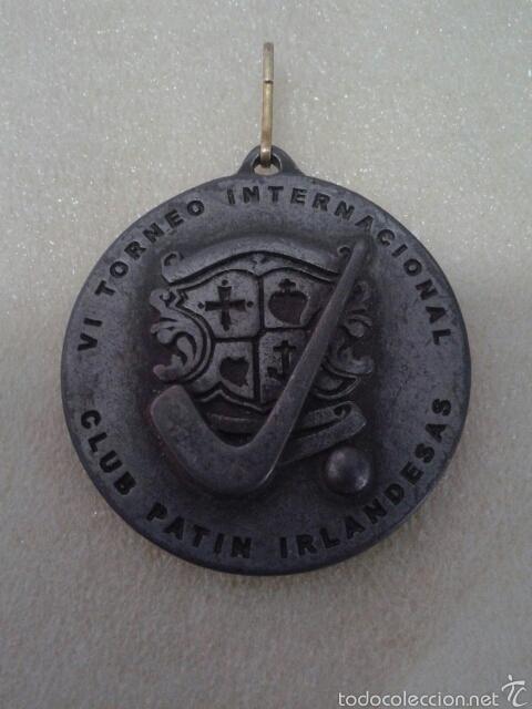 MEDALLA CLUB PATIN IRLANDESAS (Coleccionismo Deportivo - Medallas, Monedas y Trofeos - Otros deportes)