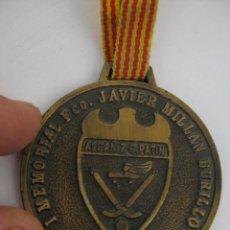 Coleccionismo deportivo: MEDALLA I MEMORIAL FCO JAVIER MILLAN MURILLO ALCAÑIZ 1997 C. PATIN. Lote 58527944