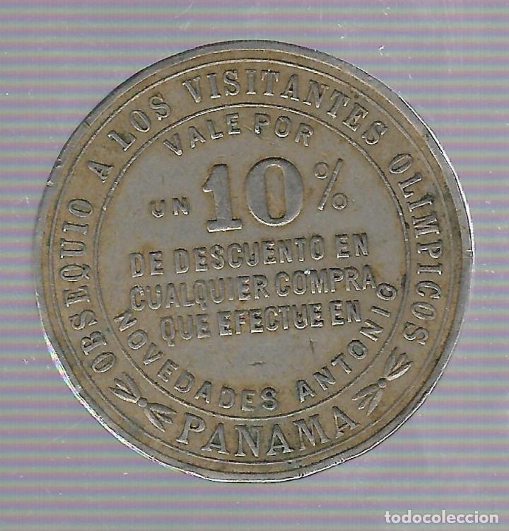 Coleccionismo deportivo: MEDALLA. IV JUEGOS CENTRO AMERICANOS Y DEL CARIBE. PANAMA. 1938. VALE DESCUENTO EN NOVEDADES ANTONIO - Foto 2 - 62327456