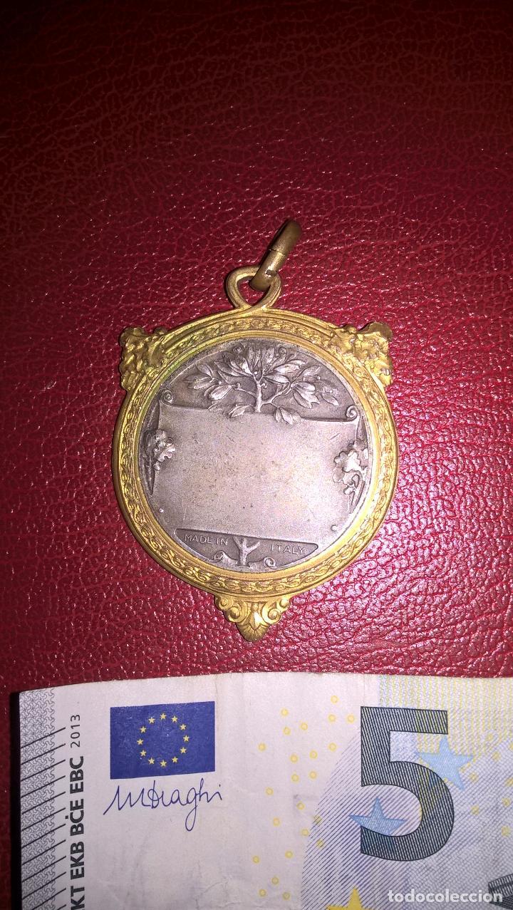 Coleccionismo deportivo: Tiro. Medalla antigua - Foto 2 - 64511703