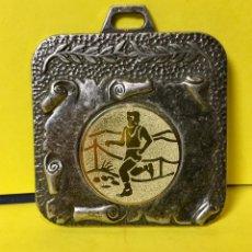 Coleccionismo deportivo: MEDALLA CARRERAS TRIAL CARRERA OUTDOOR AÑOS 60 70 55X47MM. Lote 67111157