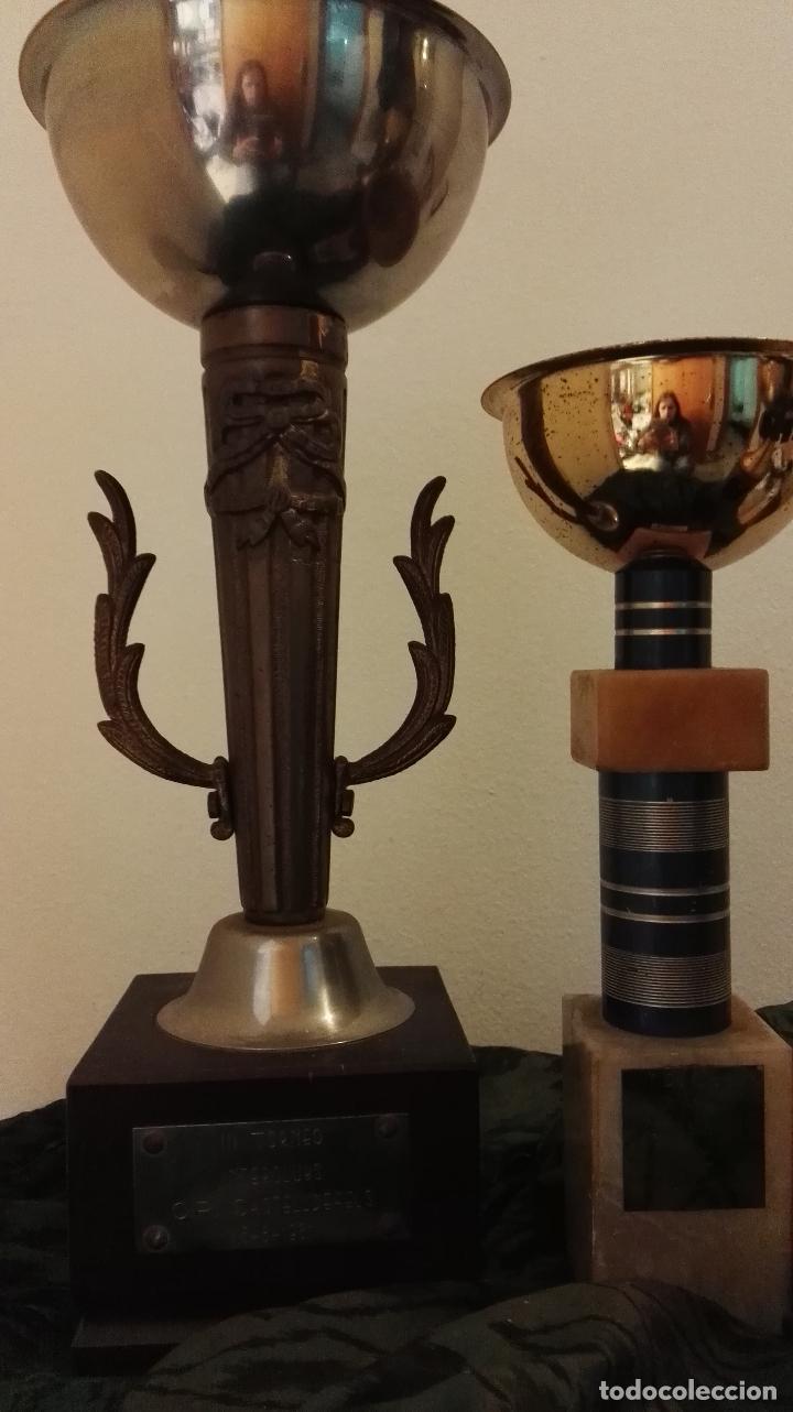 Coleccionismo deportivo: lote trofeos variados - Foto 3 - 67171069