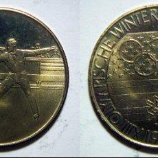 Coleccionismo deportivo: MEDALLA XIII OLYMPIMPISCHE WINTERSPIELE LAKE PLACID USA 1980. Lote 70203549