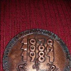 Coleccionismo deportivo: MEDALLA PARTE DE UN TROFEO CICLOTURISTA CAMBRILS . Lote 71418175