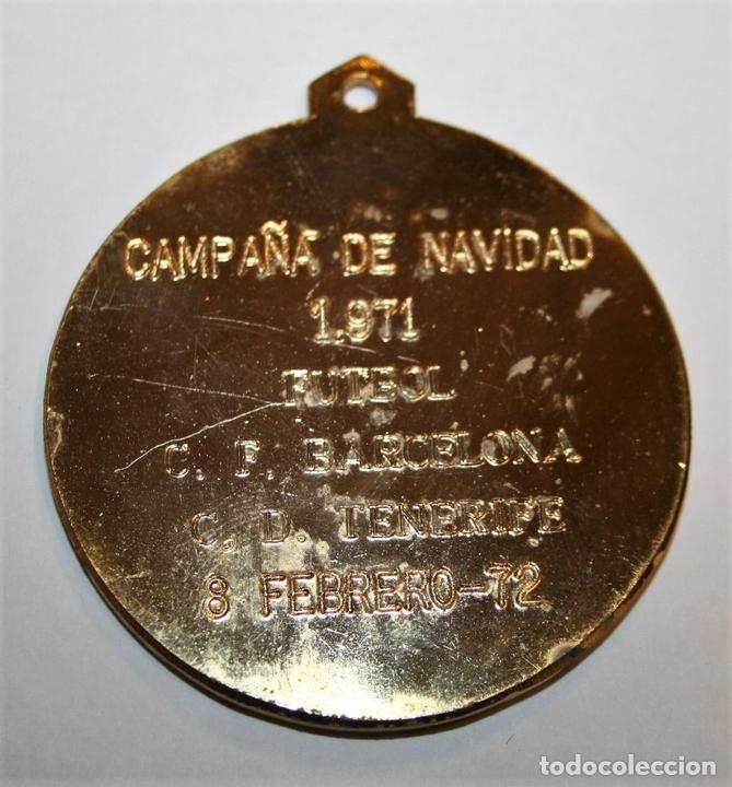Coleccionismo deportivo: MEDALLA. JUNTA PROVINCIAL DE EDUCACIÓN FÍSICA Y DEPORTES. TENERIFE. 1972 - Foto 2 - 71472111