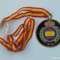 Coleccionismo deportivo: MEDALLA DE LA REAL FEDERACION DE TIRO OLIMPICO, CAMPEONATO ESPAÑA ARMAS HISTORICAS, HIZADAI-O, CAMPE. Lote 71518067