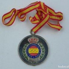 Coleccionismo deportivo: MEDALLA DE LA REAL FEDERACION DE TIRO OLIMPICO, CAMPEONATO ESPAÑA ARMAS HISTORICAS, FREIRE BRULL, SU. Lote 71519103