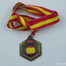 Coleccionismo deportivo: MEDALLA DE LA REAL FEDERACION DE TIRO OLIMPICO, COPA PRESIDENTE ARMAS HISTORICAS KUCHENREUTER, 3º CL. Lote 71519511