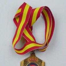 Coleccionismo deportivo: MEDALLA DE LA REAL FEDERACION DE TIRO OLIMPICO, COPA PRESIDENTE ARMAS HISTORICAS MINIE, CAMPEON MATA. Lote 71519623