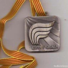 Coleccionismo deportivo: MEDALLA DE PLATA ESPORT CATALÀ / GENERALITAT DE CATALUNYA. Lote 73811219