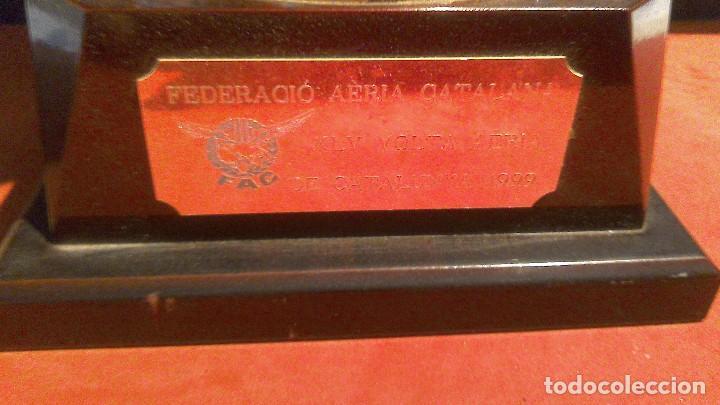 Coleccionismo deportivo: Trofeo Copa aviacion FAC 1999 47x28 - Foto 2 - 74389491