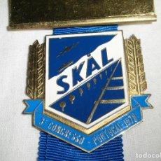 Coleccionismo deportivo: INSIGNIA DEL TERCER CONGRESO SKAL CLUBS PORTUGAL 1978. Lote 75154959