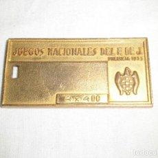 Coleccionismo deportivo: JUEGOS NACIONALES DEL F.DE.J. PALENCIA 1955. Lote 75156995